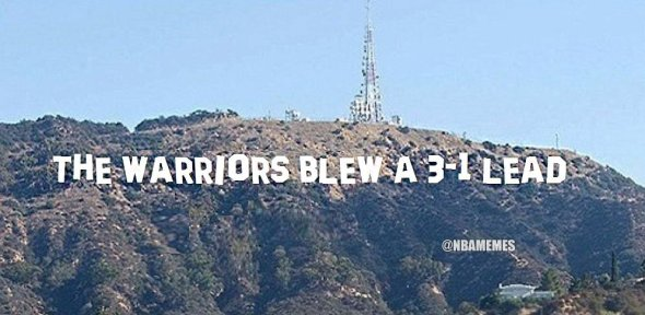 Warriors Blew a 3-1 Lead