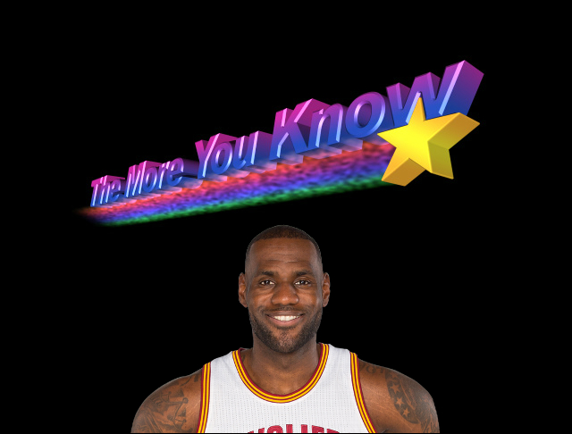 LeBron - The More You Know