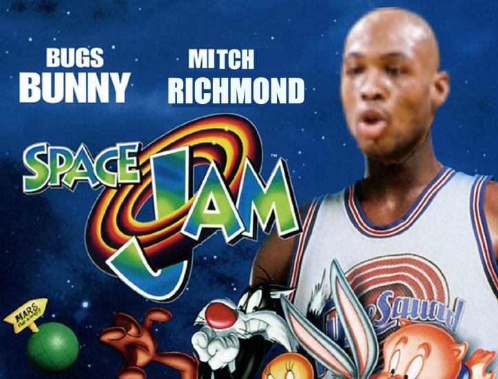 Mitch Richmond Space Jam